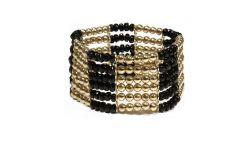 Bracelet elastique Doré Doré