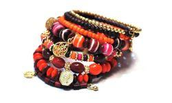 Bracelet Spirale + Breloques