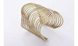 Bracelet Ondulations Metal