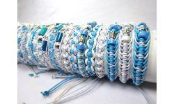 Tube 50 Bracelet Reglable Mix Matiere