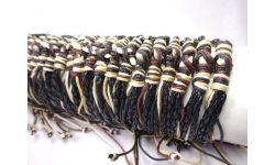 """Tube 60 Bracelets Reglable Cuir+""""Dent"""""""