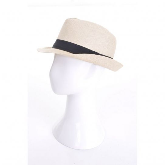 Chapeau Panama Bord Moyen