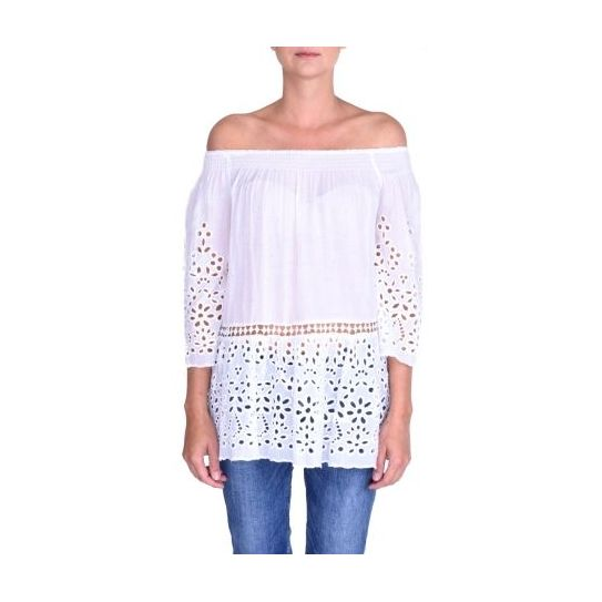 Top volant broderie anglaise
