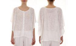 Boubou Polyester Uni+Boutons