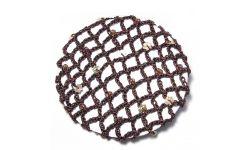 Filet … Chignon Textile Autres