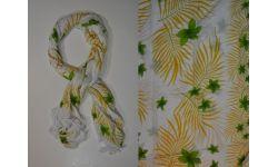 Pareo Viscose Palme Et Fleur Etoile