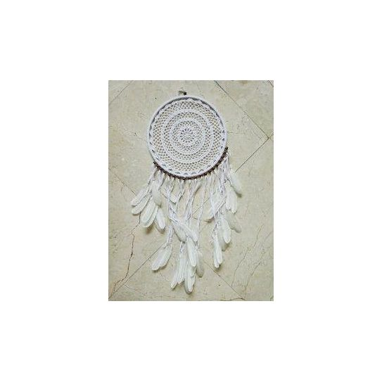 Attrape reves crochet diametre 35cm - Attrape reve crochet ...