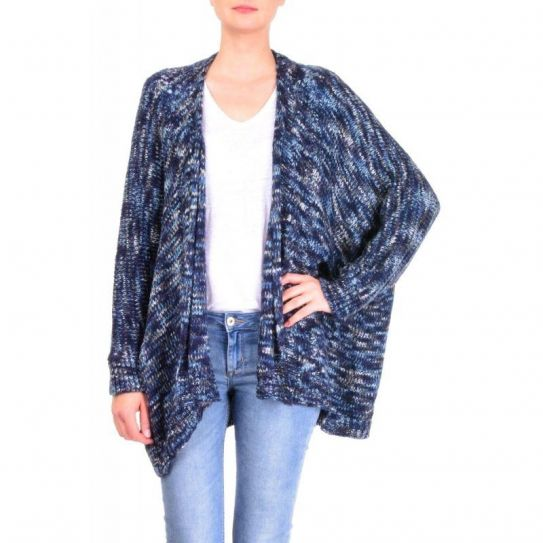 Veste Tricot Acrylique Chinee Ample