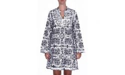 Robe Coton 2 Tons Brodee