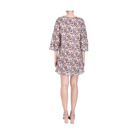 Etole polyester motif ikat